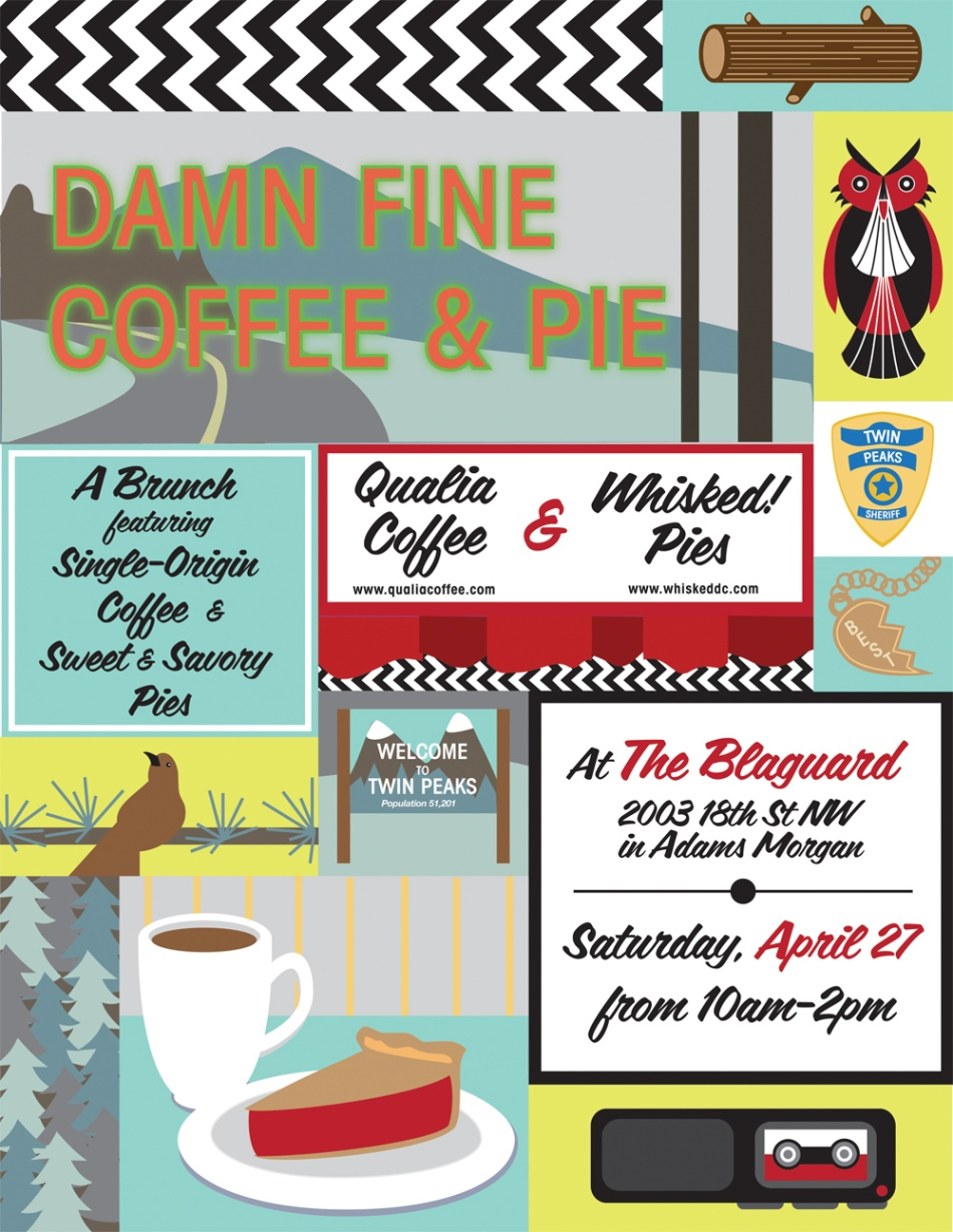 Twin Peaks Brunch Pop-Up at the Blaguard in AdMo